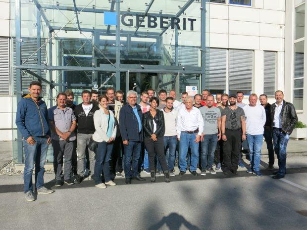 Firmenausflug 2017 – Firma Geberit